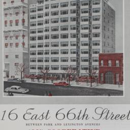 116 E. 66 Street