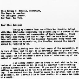 Letter from Day Monroe to R...