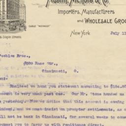 Austin, Nichols & Co. letter