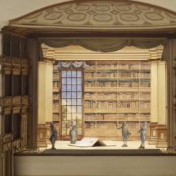 Model Of The Drury Lane; Lo...