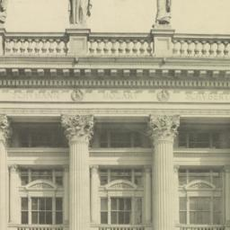 Portion of west front of th...