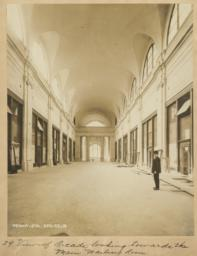 29. View of Arcade looking towards the Main Waiting Room