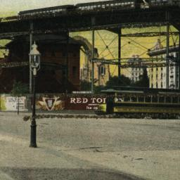 110th St. Elevated Curve, N...