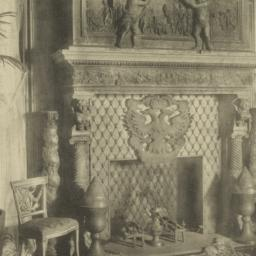 Chimneypiece in staircase h...