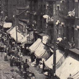 Scene Lower East Side, N.Y.