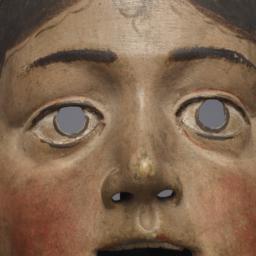 Female Mask (possibly A Saint)