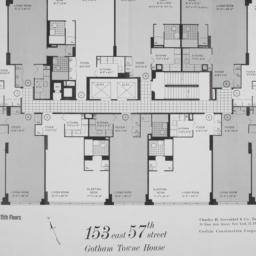 153 E. 57 Street, Plan Of 2...