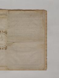 Serlio Book VI Plate 71 text verso