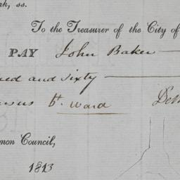 [Check, 1813 August 28, to ...