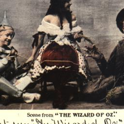 """Scene from """"The Wizard of Oz."""""""