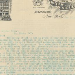 J. S. Shields & Co. Letter