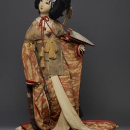 Clothed Figure Or Doll Of S...