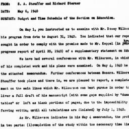 Memorandum from Samuel A. S...