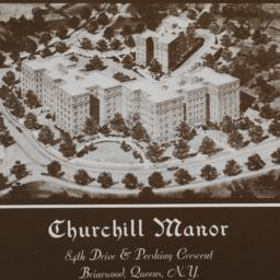 Churchill Manor, 84 Dr. And...