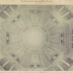 Interior decoration of dome...