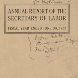 Annual Report of the Secret...