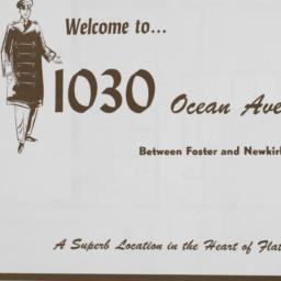 1030 Ocean Avenue, Welcome ...