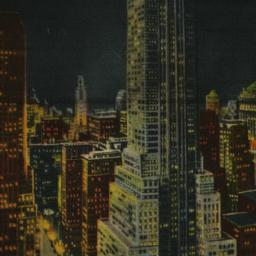 Chrysler Building by Night,...