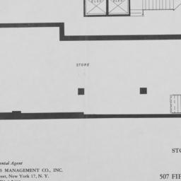 507 Fifth Avenue, Store Plan