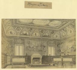 Morgan Library. [Interior]