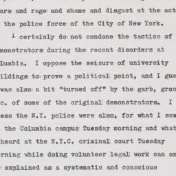 Letter to Kirk from John S....