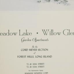 Meadow Lake, Willow Glen, 7...