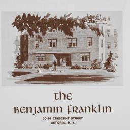 The     Benjamin Franklin, ...