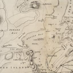 [Map of Manhattan, Brooklyn...