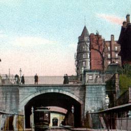 Arch on Montague St., Brook...