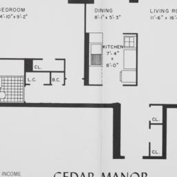 Cedar Manor, 157 Street And...