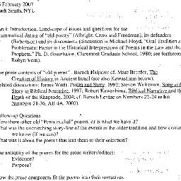 Handouts, 2006-02-16. The S...