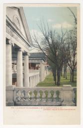 9192. A Glimpse of the Colonnades, U. of VA., Charlottesville, VA