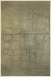 Bennett Park, Fort Washington Heights. No. 1. Key Plan Showing Gift to the City and Proposed Layout of Streets. Scheme for the Subdivision of the Property of James Gordon Bennett. McKim, Mead and White, Architects. 160 Fifth Avenue, New York, NY