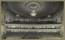 Eastman School of Music. [Interior of auditorium]