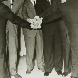 Ulysses Kay greeting U.S.S....