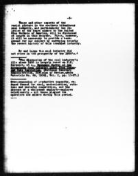 Letter from Charles Dollard to Donald Young regarding plagiarism by Herbert R. Northrup, attached with comparison of Northrup and Paul H. Norgren's manuscripts by Richard Sterner, May 14, 1942 (5)