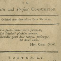 Rudiments of Latin Prosody