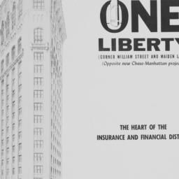 1 Liberty Street, One Liberty