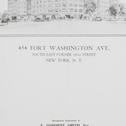 454 Fort Washington Avenue