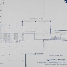 2 Broadway, Second Floor Plan