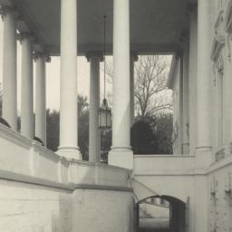 [White House, detail of ent...