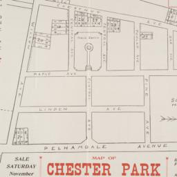 Map of Chester Park 41 lots...