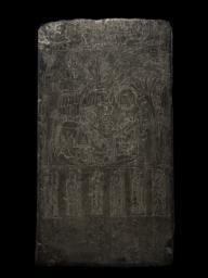 Votive Stele, Dedicated by Monk Zhilang, Back