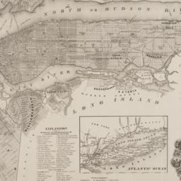 New-York city & county map ...