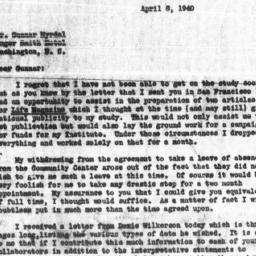 Letter from Horace R. Cayto...