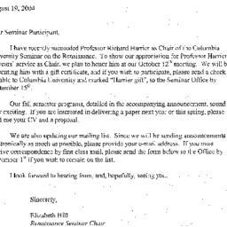 Correspondence, 2005-08-19....