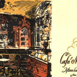 Café Madison Fifteen East F...