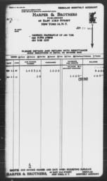 Invoice from Harper & Brothers to Carnegie Corporation of New York, June 28, 1944