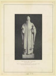The Chinese seer: Confucius. Karl Bitter, sculptor. Note--The picture heretofore printed as the Chinese seer should have been described as Chinese law