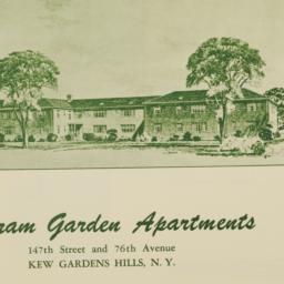 Bertram Garden Apartments, ...